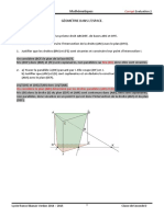 2- Geometrie dans l'espace - Corrige 2014-2015.pdf