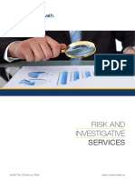 Risk Investigation