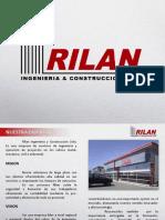 PRESENTACION_RILAN INGENIERÍA Y CONSTRUCCIONES 2015_Rev.5