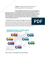 Fair Share Living Wage Project