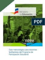 Guía Metodológica Para Docentes Régimen Sierra- Amazonía 2016-2017 21sep