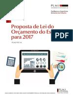 Proposta de Lei Do Orcamento Do Estado Para 2017