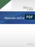 GT-I8190 UM Manuale