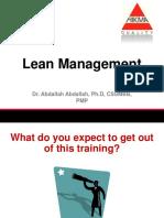 Lean Management - EnGLISH