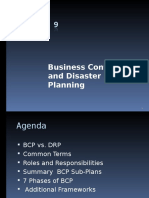 CISSP - 9 Buisiness Continuity & Disaster Recovery Planning