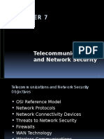 CISSP - 7 Telecommunications & Network Security