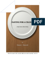 Fasting for a Change Booklet