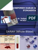 1. Komponen Darah Dan Fungsinya
