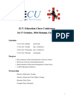ECU Conference Batumi2016