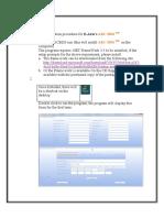Installation Procedure for ARC BDS