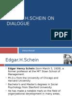 Schein on Dialogue