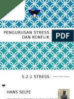 Pengurusan Stress Dan Konflik