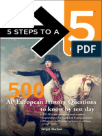 (5 Steps to a 5) Sergei Alschen,Thomas a. Editor - Evangelist-500 AP European History Questions to Know by Test Day -McGraw-Hill Professional_McGraw-Hill Education_McGraw-Hill (2012)