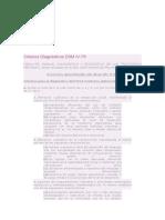 Criterios Diagnósticos DSM IV TGD