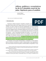 Berry, A. (2014). Aspectos Jurídicos, Políticos y Económicos de La Tragedia de La Colombia Rural de Las Últimas Décadas Hipótesis Para El Análisis(Ok)