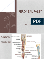Peroneal Palsy Ppt