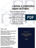 Estructura Gorgias de Platon