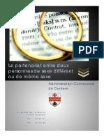 Guide Pratique Concernant Le Partenariat