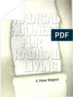 Radical Holiness for Radical Li - C. Peter Wagner