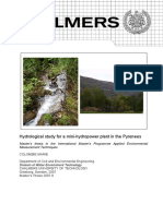 Hydrological Study for Mini-hydropower