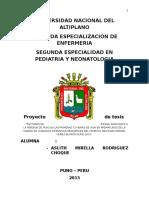 FACTORES DE RIESGO ASOCIADOS A LA PÉRDIDA DE PESO EN LAS PRIMERAS 72 HORAS DE VIDA EN PREMATUROS