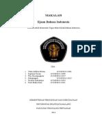 Makalah Ejaan Bahasa Indonesia