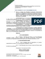 Resolução CONSEMA Nº 14/2012