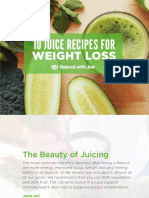 10 Juice Recipes for Weight Loss