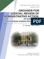 Grounds for Judicial Review