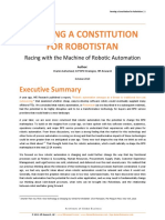 Framing a Constitution for Robotistan October 2013
