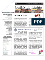 SSCC Winter 2010 Newsletter