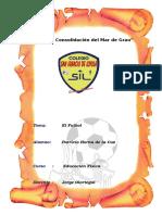 Monografia El FutbolL FUTBOL Completo