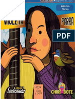 Violeta Parra.coleccion Antiprincesas