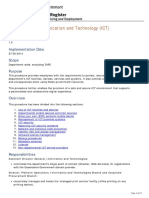 Information Communication and Technology (ICT) v5.0