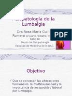 63 Lumbalgia Fisiopatologa 14859
