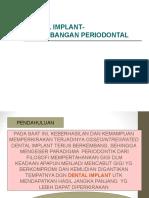 Dental Implant-pertimbangan Periodontal Edited