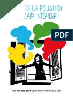 Le guide de la pollution de l'air intérieur par le ministère de l'Ecologie