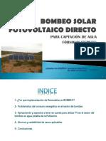 Bombeo Solar Directo