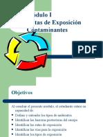 Rutas de Exposicion - Toxi - Co ntaminación y Ag Higienicos