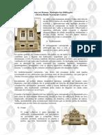 Tipologias Das Edificações Ecleticas Manaus