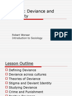 Lesson 7 - Deviance and Conformity
