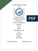 Trabajo Final de Legislacion Comercial