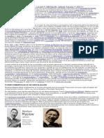 Abraham Maslow y Teoria de Necesidades