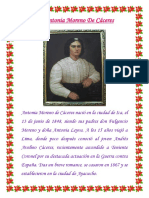 Antonia Moreno de Caceres