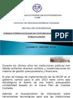 NORMAS INTERNACIONALES DE CONTABILIDAD PARA EL SECTOR   PÚBLICO (NICSP)