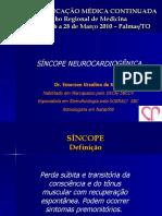 Sincope Neurocardiogenica - Aula Palmas