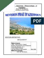 Rapport Pdau Azeffoun