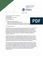FEMA SHPO Archeology 11 Aug 2014