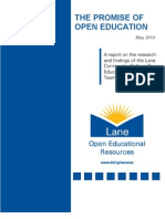 The Promise of Open Education