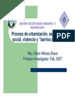 5 Urbanizacion Segregacion Social Violencia y Barrios